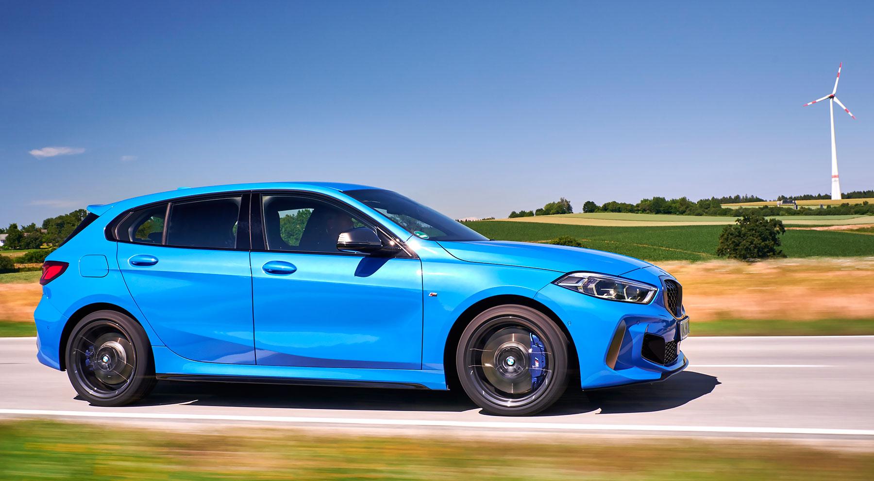 La contundencia estética del nuevo BMW Serie 1