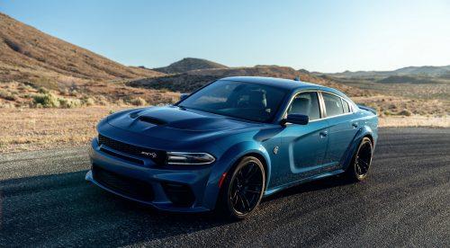 El Dodge Charger SRT Hellcat Widebody saca músculo