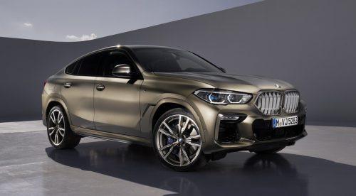 BMW X6: todavía más grande y con hasta 530 CV