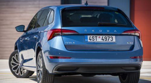El Skoda Scala promete una autonomía de 410 kilómetros con GNC