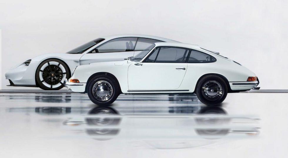 Porsche 911 y Porsche Taycan
