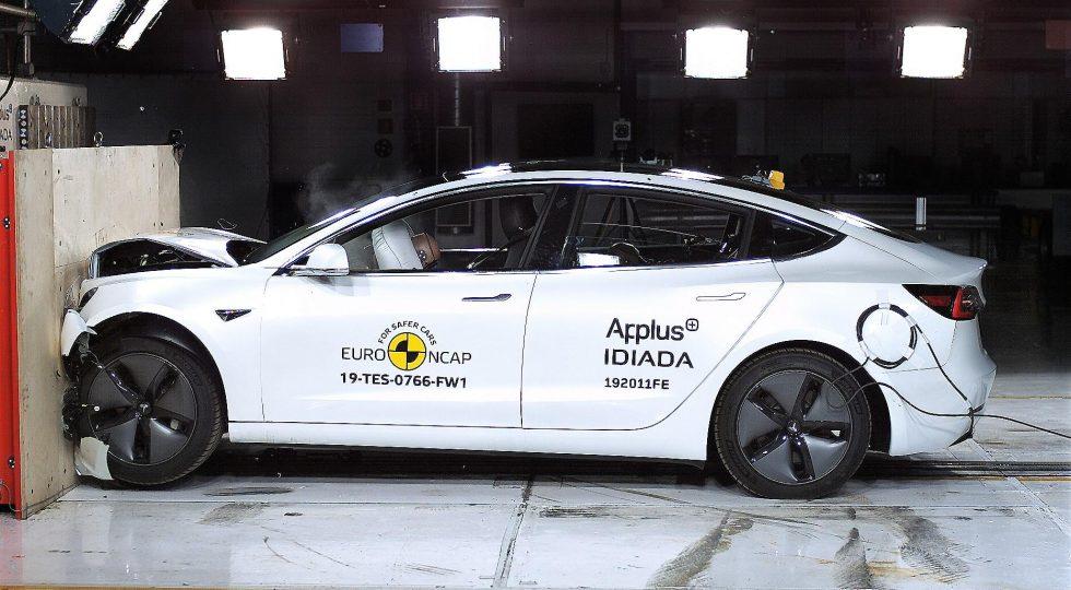 Tesla Model 3 Euro NCAP