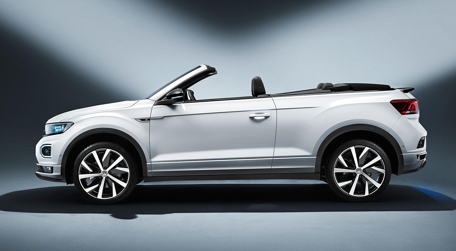 Todos los detalles del nuevo Volkswagen T-Roc Cabrio