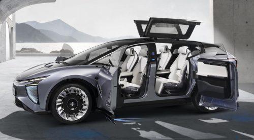 HiPhi-1, un nuevo SUV eléctrico chino con 650 kilómetros de autonomía