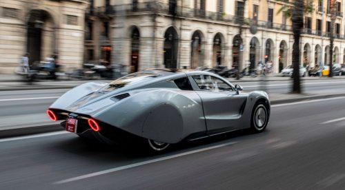 El Hispano Suiza Carmen pasea su millón y medio de euros por Barcelona