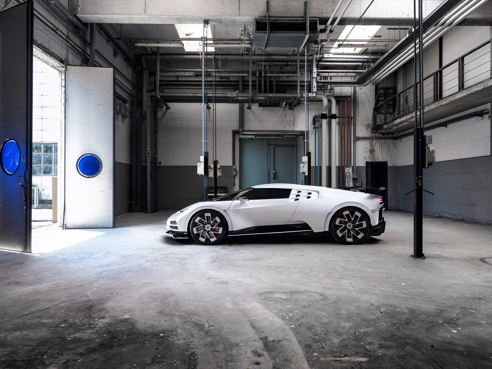 Todas las imágenes del Bugatti Centodieci