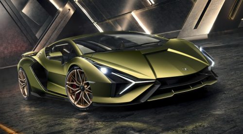 Lamborghini presenta el Siàn, su primer superdeportivo híbrido