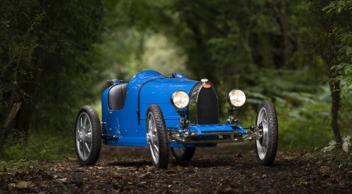 El nuevo Bugatti cuesta 30.000 euros, pero es un coche para niños