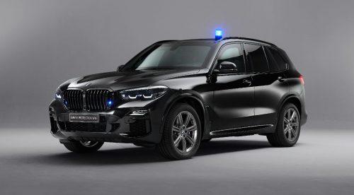 Un BMW X5 que resiste explosiones y disparos de fusil