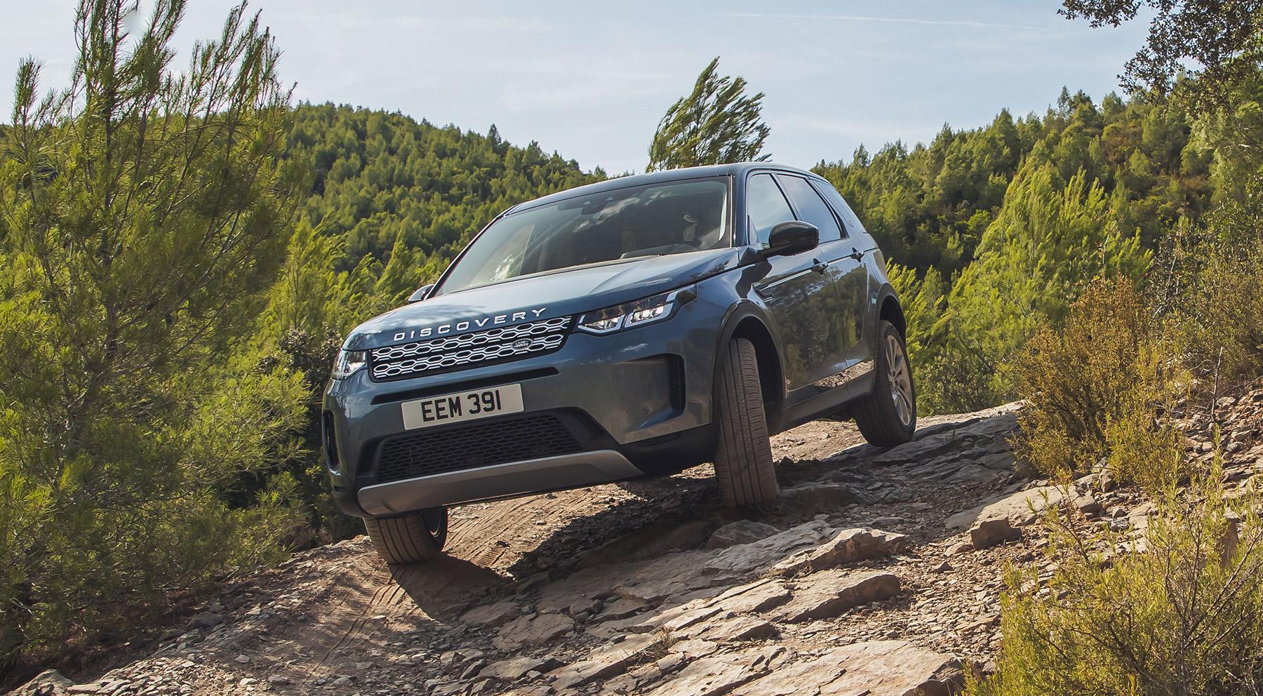 Todas las imágenes del Land Rover Discovery Sport