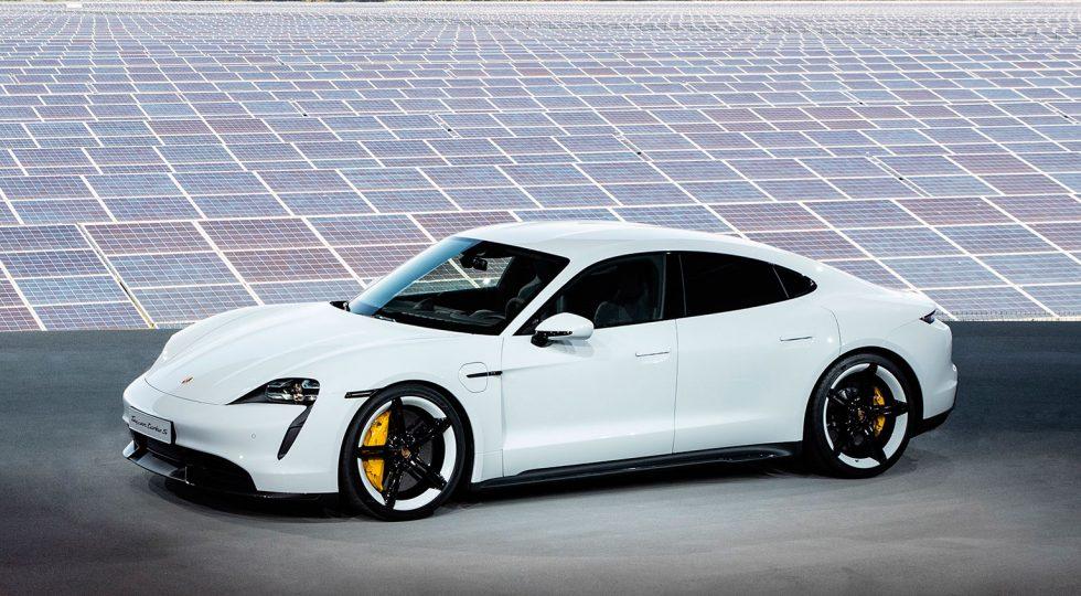 Los detalles del Porsche Taycan, por dentro y por fuera