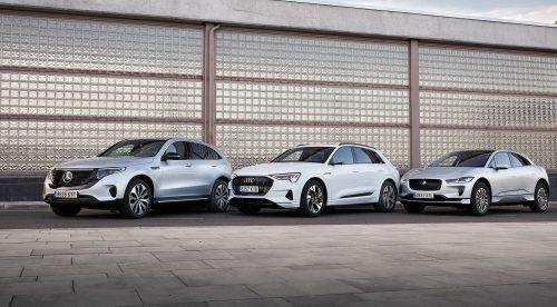 Tres SUV eléctricos 'premium': conducción