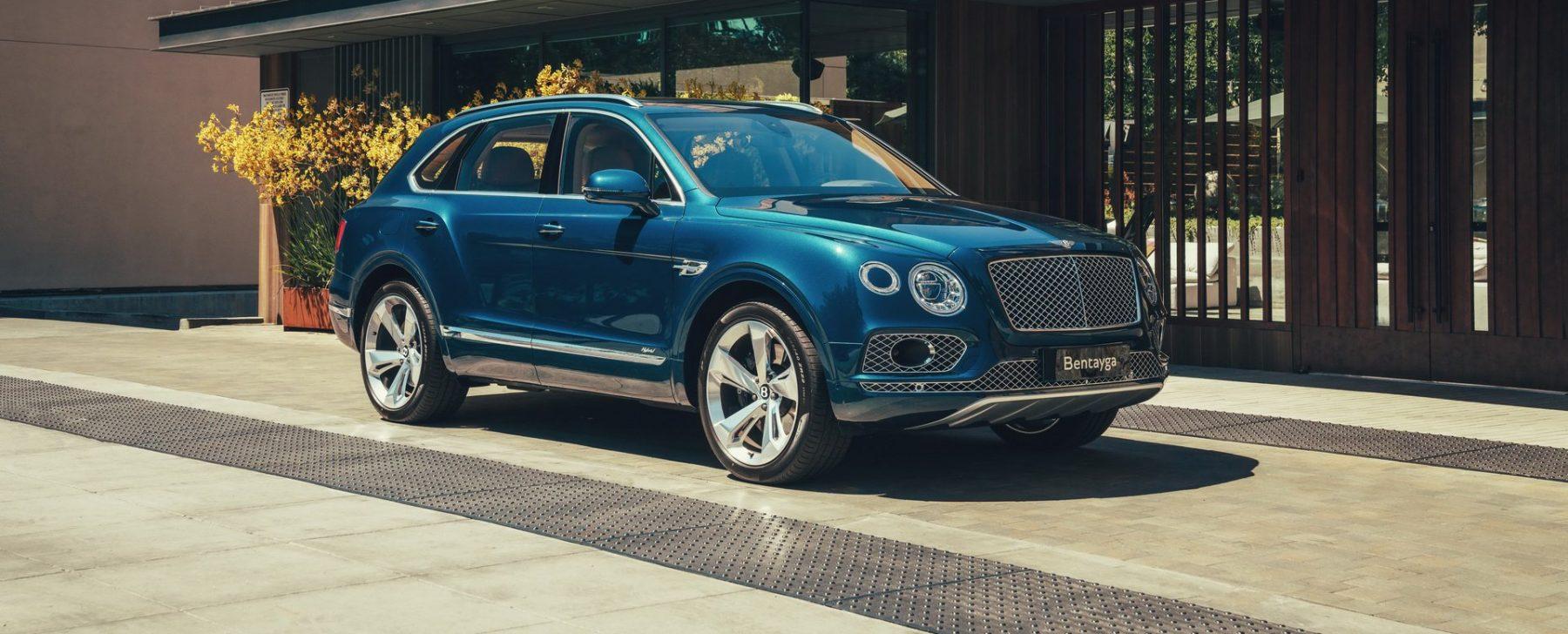 Bentley Bentayga hibrido