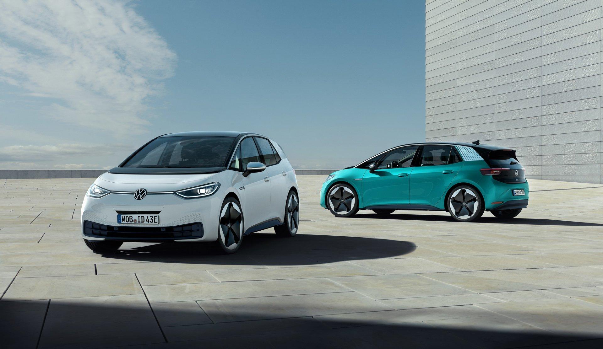 El Volkswagen ID.3 desde todos los ángulos