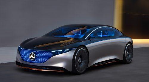 El Mercedes EQS replica a los Tesla Model S y Porsche Taycan