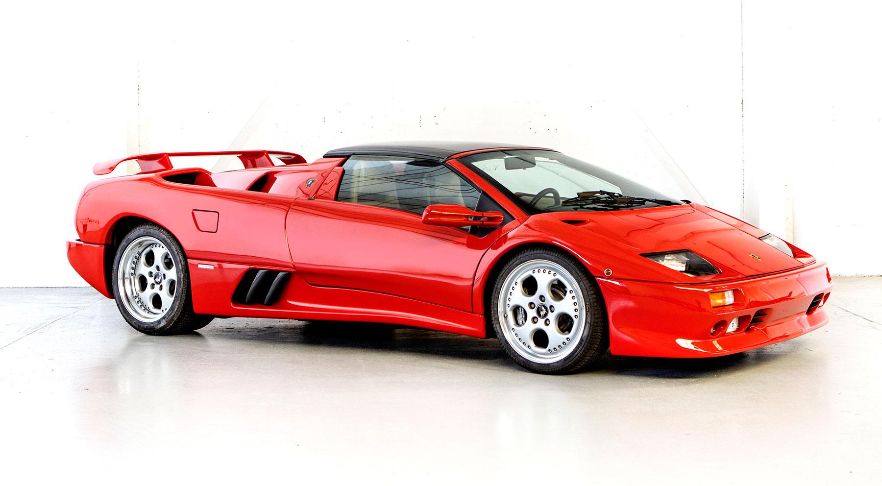 Lamborghini Diablo VT Roadster // 200.348 euros