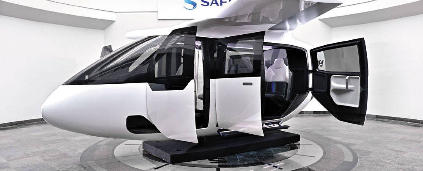 Uber prepara un servicio de taxi volador para 2023 a 25 céntimos por kilómetro