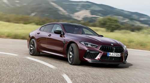 BMW M8 Gran Coupe: misma fórmula, 625 CV y cuatro puertas