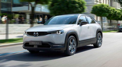 Mazda MX-30: el primer eléctrico de la marca es un SUV cupé
