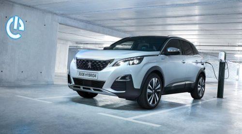 Peugeot lanza su gama híbrida enchufable