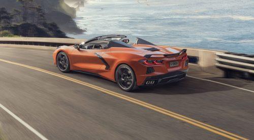 El Corvette Stingray Convertible amplía las opciones con un techo retráctil