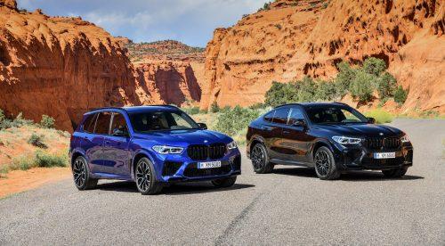Los BMW X5 M y X6 M son puro músculo: hasta 625 CV