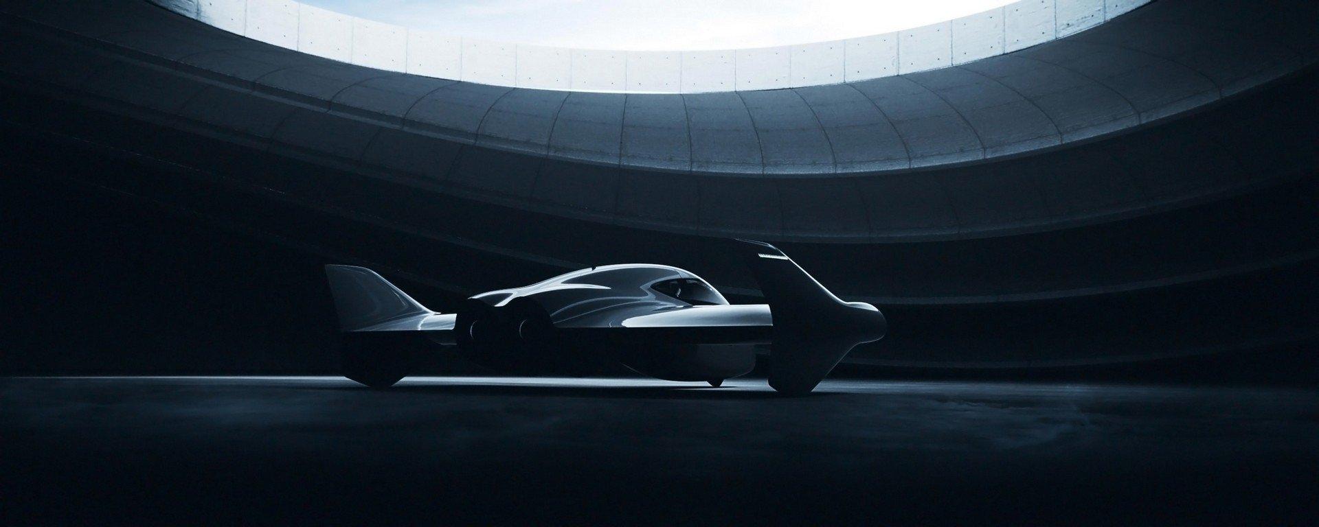 coche volador Porsche