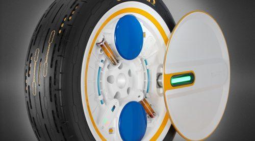 Continental desarrolla un neumático que se infla en marcha