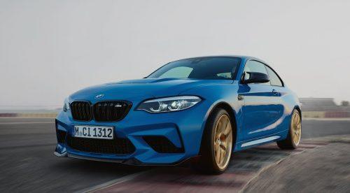 El BMW M2 CS es una máquina de derrapar