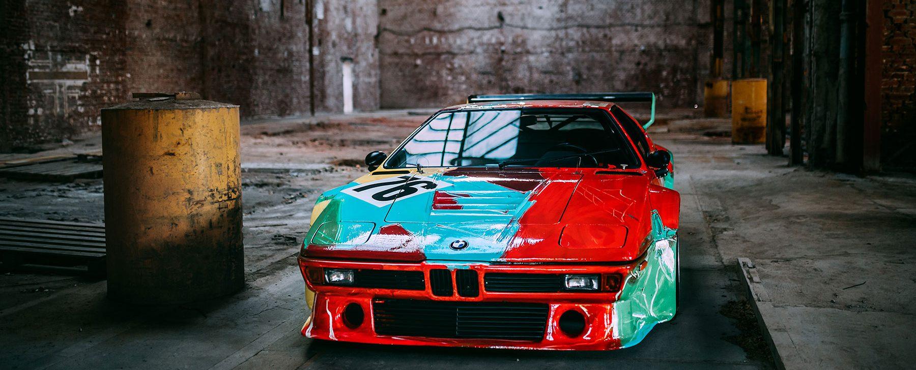 Seis coches que entraron en la historia del arte