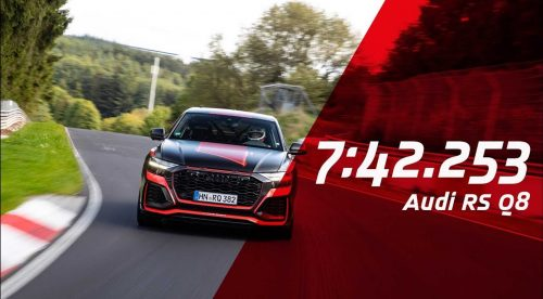 El Audi Q8 RS se convierte en el SUV más rápido en Nürburgring
