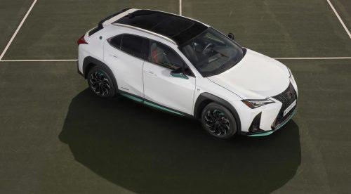 Lexus UX 250h, el coche de la Copa Davis