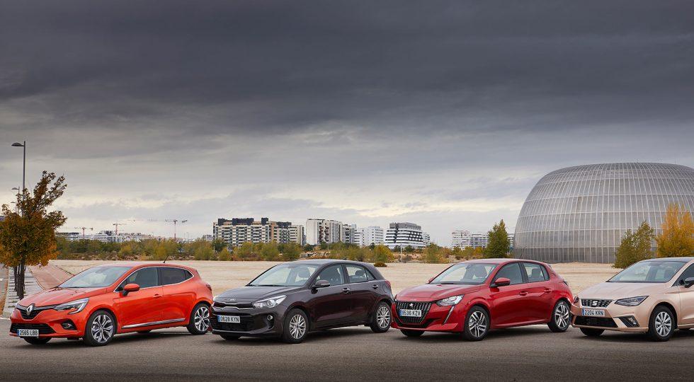 Comparativa: ¿cuál es el mejor de los coches utilitarios?