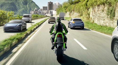 Kawasaki incorpora a sus motos las ayudas de los coches