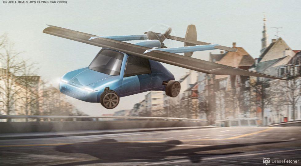 coches voladores
