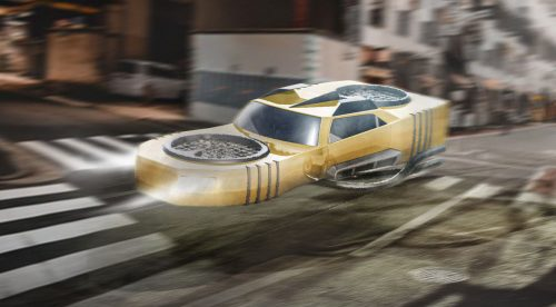 Así imaginaban los coches voladores a principios del siglo XX