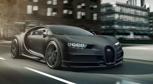 Bugatti presenta una edición especial del Chiron por tres millones de euros