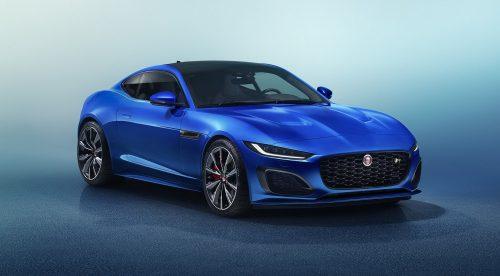 El Jaguar F-Type actualiza su estética elegante y conserva la deportividad