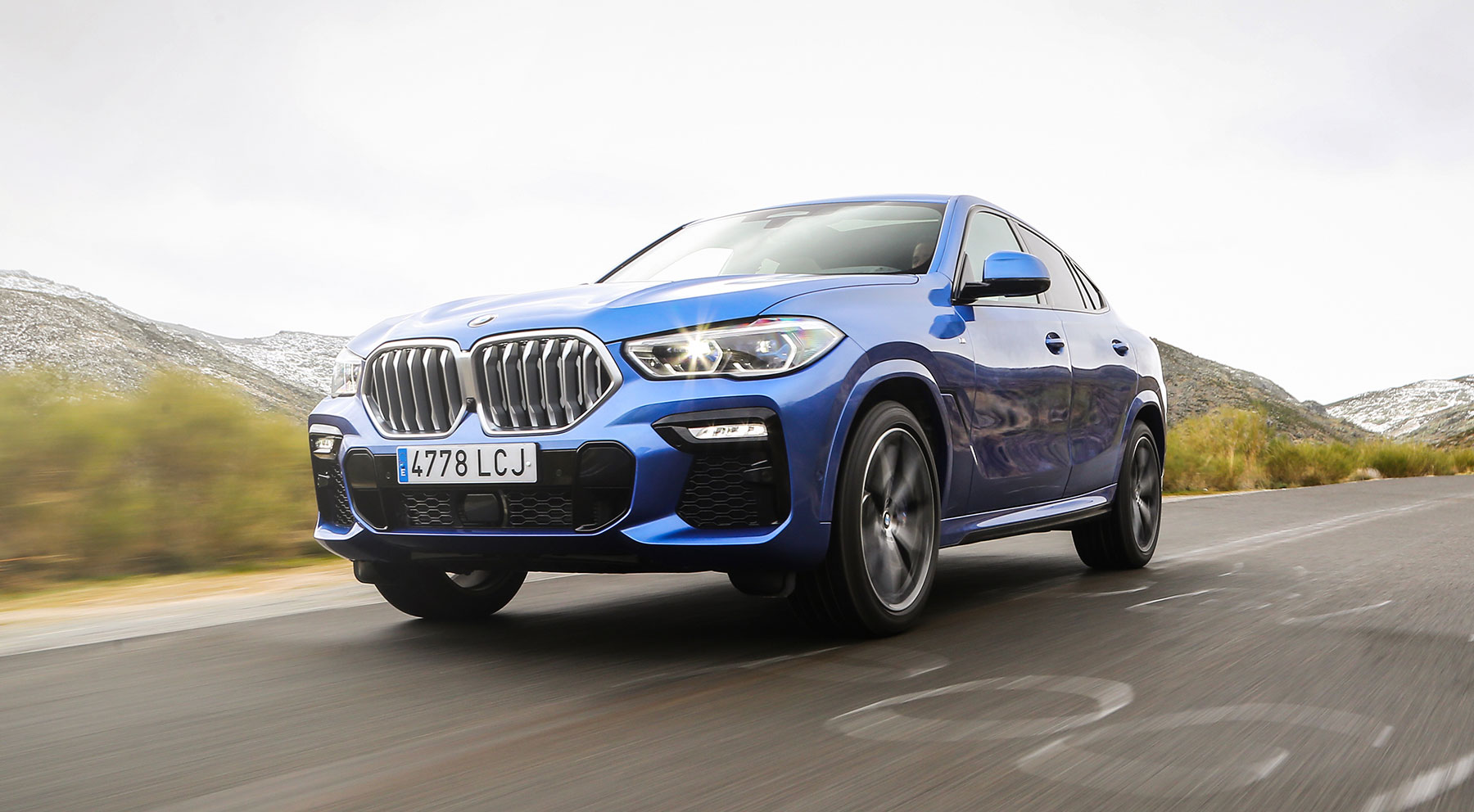 Así es la nueva generación del BMW X6