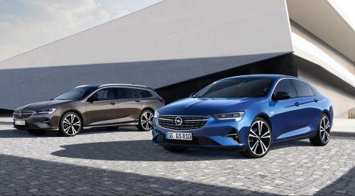 El Opel Insignia recibe un 'lavado de cara' y más equipamiento