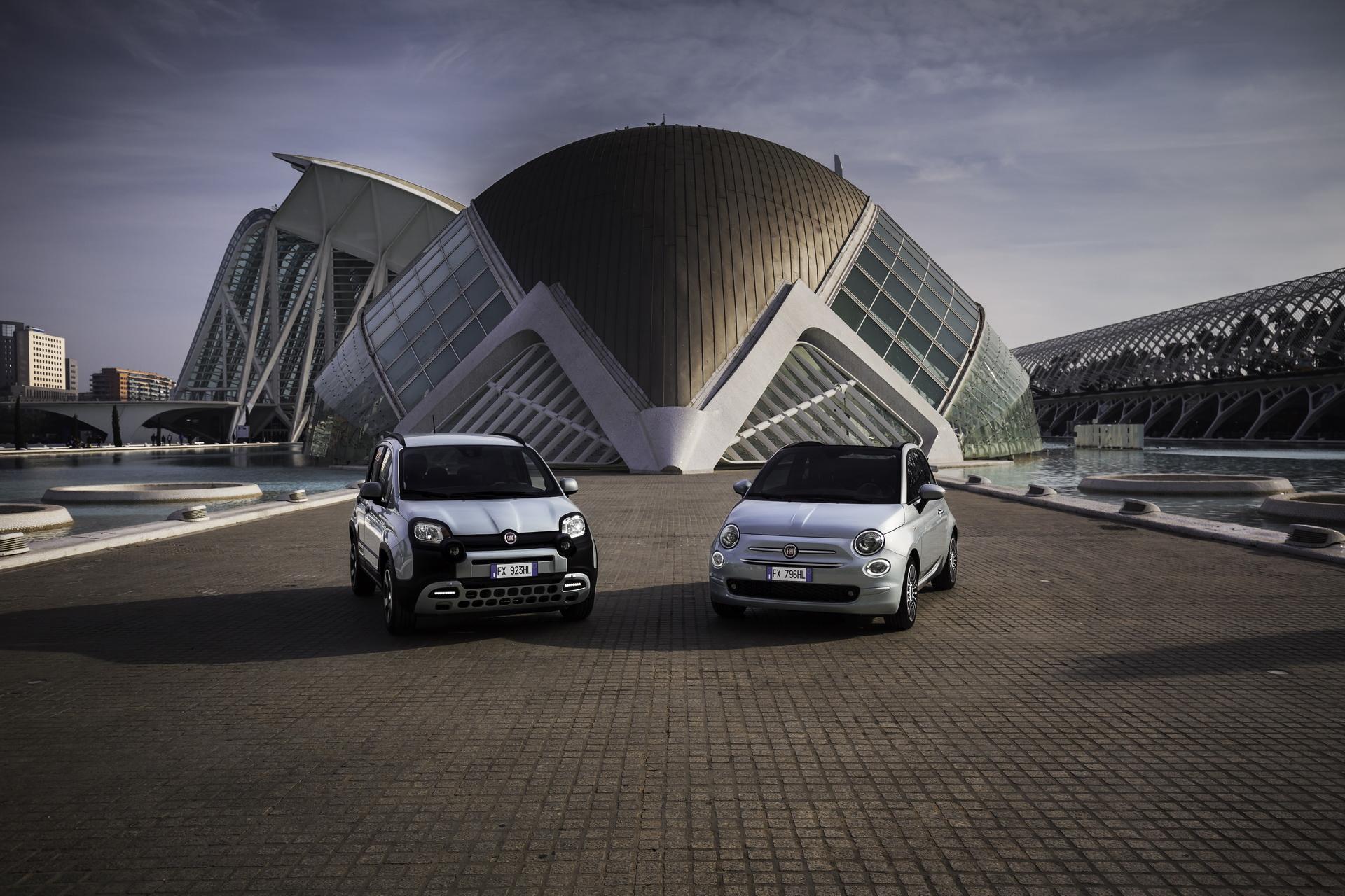 Fiat Panda y 500 Hybrid