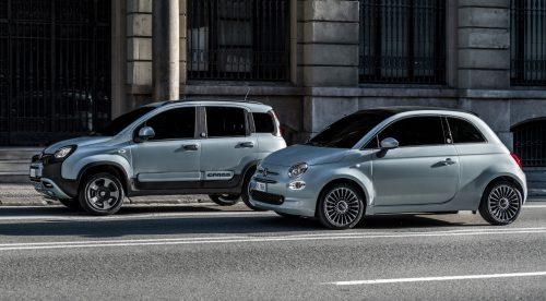 Los primeros microhíbridos de Fiat: Panda y 500