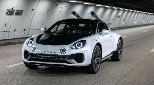 El Alpine A110 SportsX convierte el deportivo en casi un todoterreno