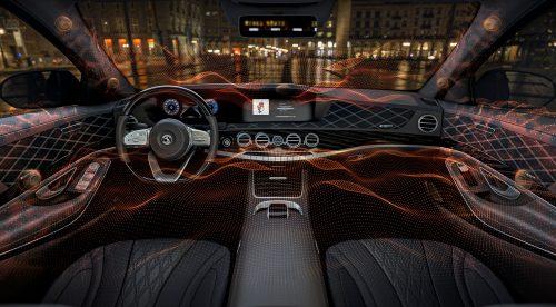 El sistema de sonido para el coche que suena sin altavoces