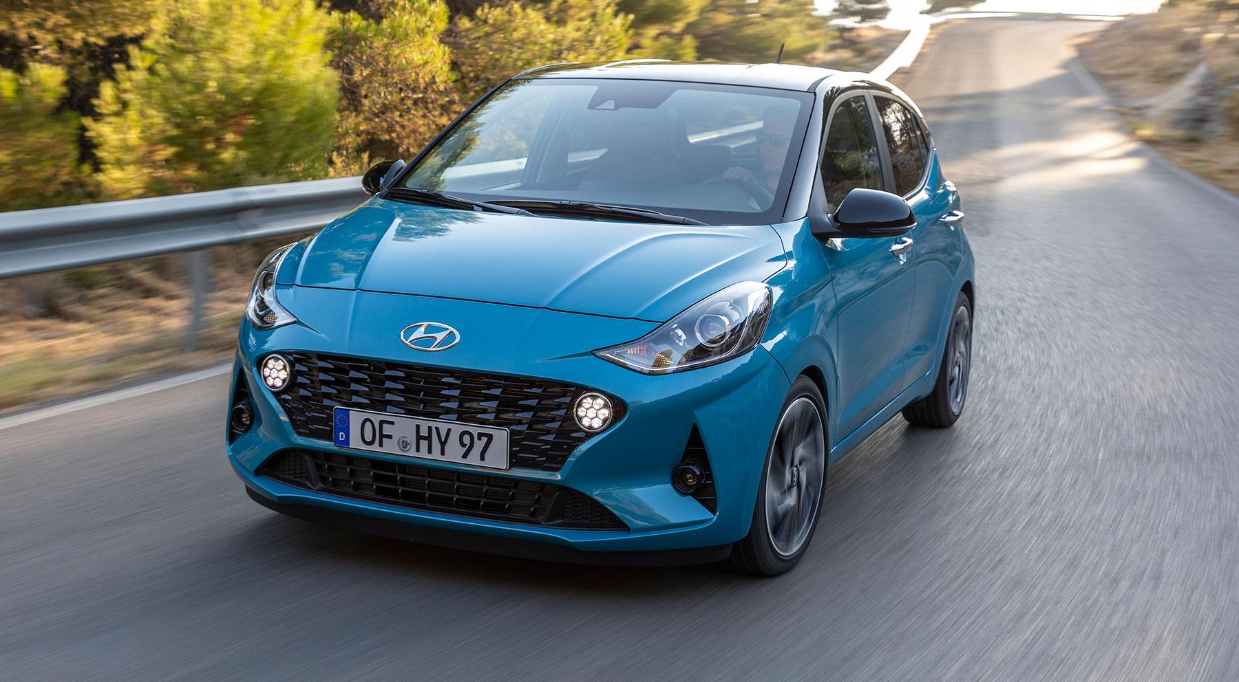 El exterior y el interior del nuevo Hyundai i10
