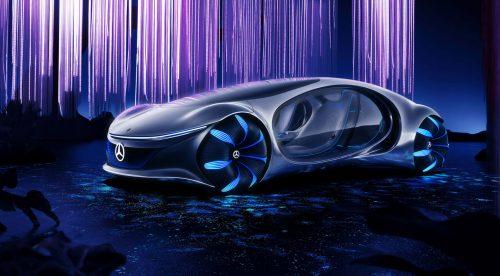 Mercedes crea el coche de la película 'Avatar'