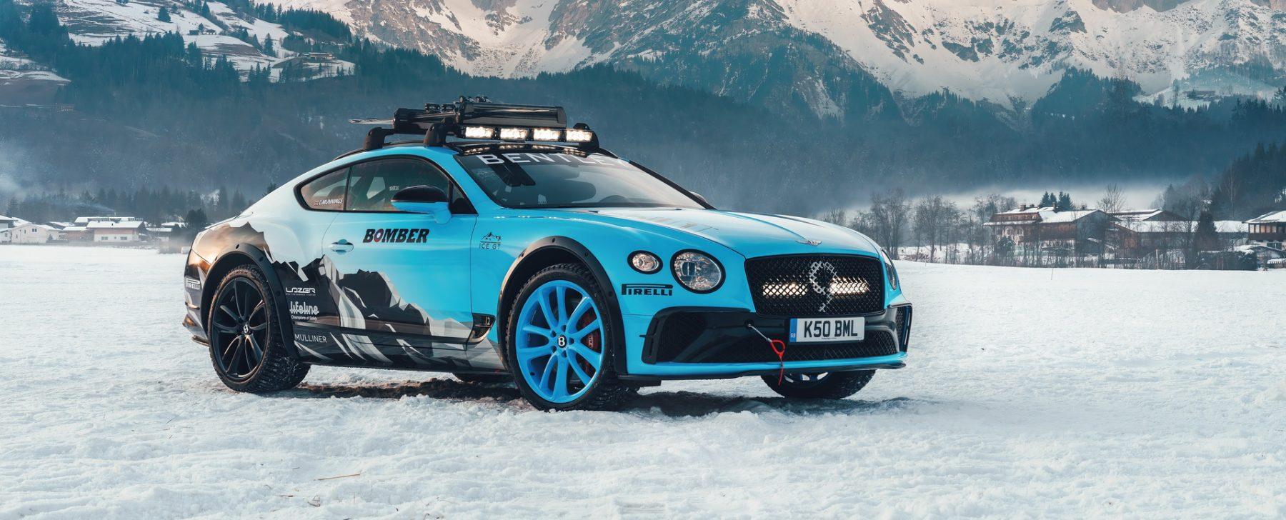 Bentley Ice Race Continental GT