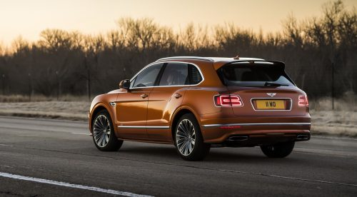 La fabricación del Bentley Bentayga Speed, en dos minutos