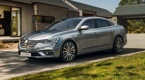 El Renault Talisman retoca su estética y reduce las emisiones
