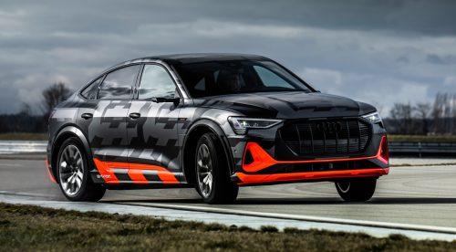 El Audi e-tron S suma un tercer motor para ser más deportivo
